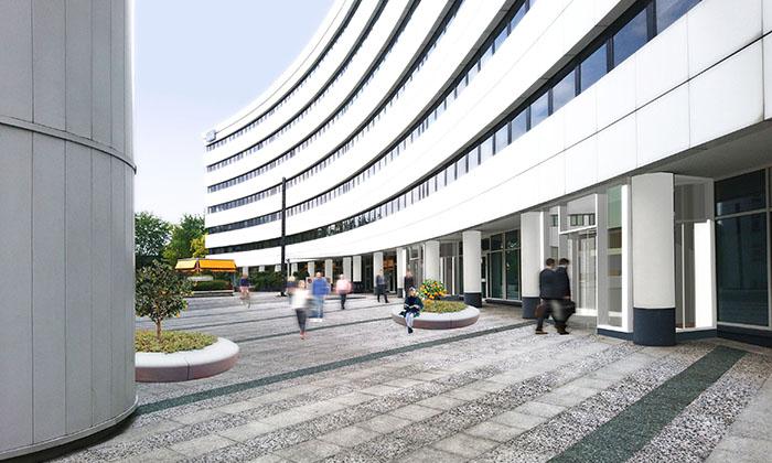 Réhabilitation d'un immeuble de bureau – Pleyad 6/7 à St-Denis