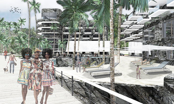 Construction d'un complexe hotelier et casino, aménagement du front de mer – Black Rock à Aberdeen, Sierra Leone