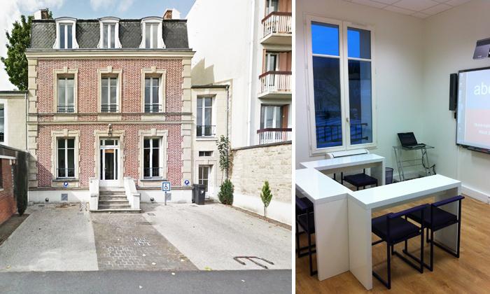 Réhabilitation et transformation d'un hôtel particulier en espace de soutien scolaire à Pontoise