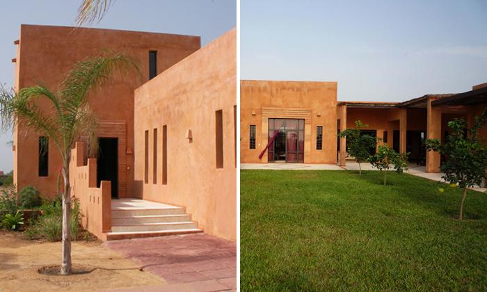 Construction d'un maison d'hôtes à Sali, Sénégal