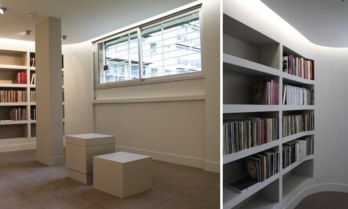 Aménagement d'un showroom et d'entrepôt à Paris 16 (Phase 1)