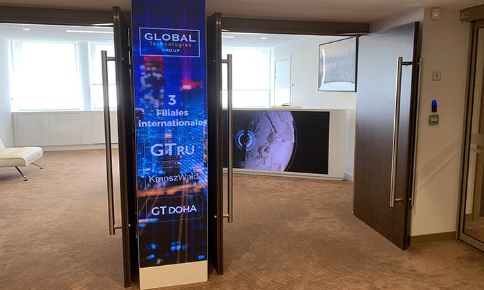 Aménagement des bureaux Global Technologie à Clichy