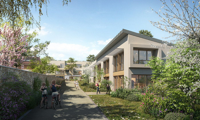 Construction d'une résidence senior, 11 logements et d'une Crèche privée à Verneuil